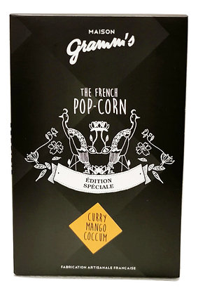 Pop-Corn Caramel au Curry Coccum