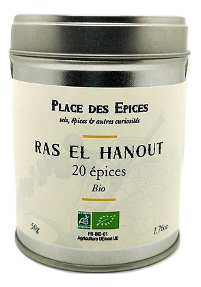 Ras el Hanout 20 épices Bio