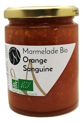 Marmelade Bio d'Orange Sanguine