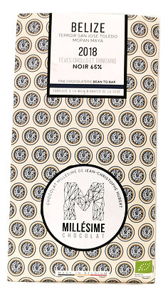 Chocolat Millésime noir - Bélize 65%