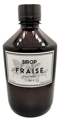 Sirop Fraise