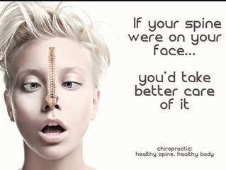 What if Your Spine was On Your Face?