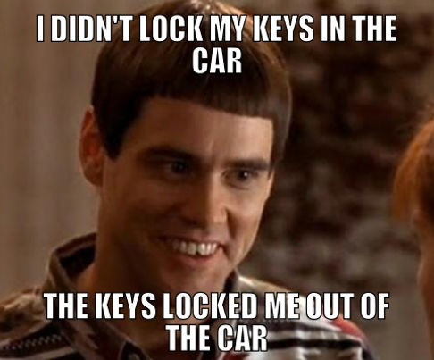 I Locked My Keys In My Car >> Locked My Keys In The Car