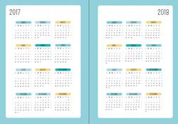Calendario 2017 - 2018