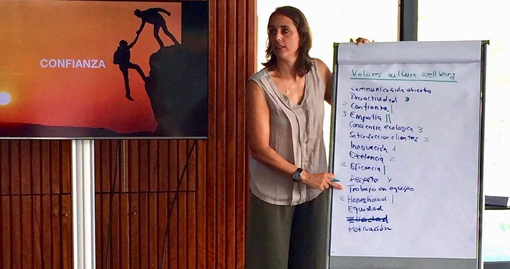 Tanja Brandt en evento Wellness Spain Influencer Meeting 2017