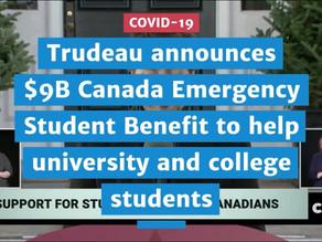 有加拿大身份的学生能申请$1,250/月补助 (内附官方申请细节)