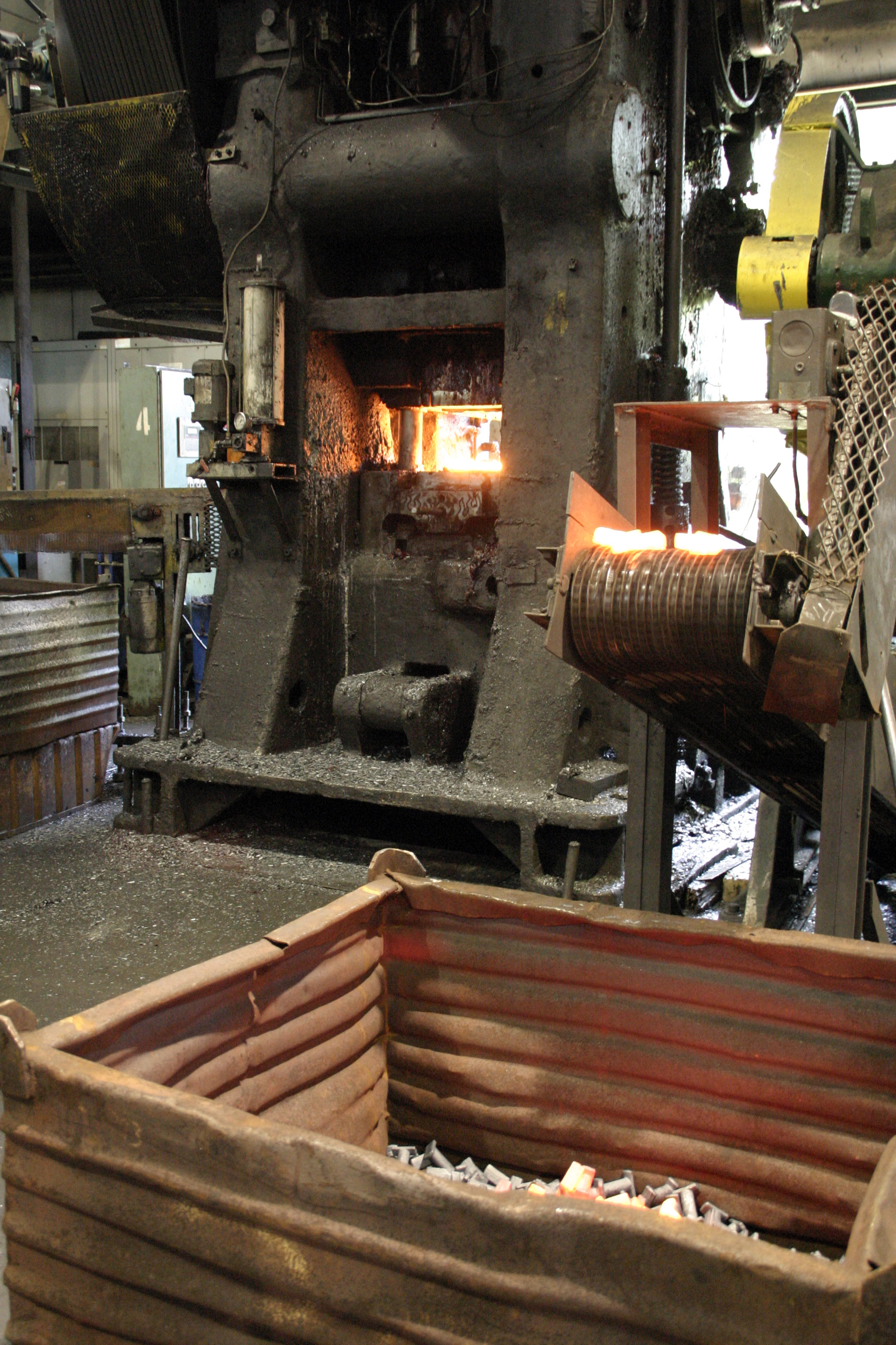 1600 Ton Forging Press Cell