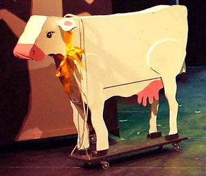 Is it a real cow?