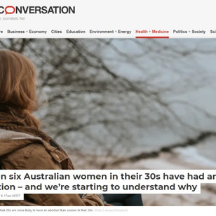 Abortion is a common experience for Australian women, though it is rarely an easy decision