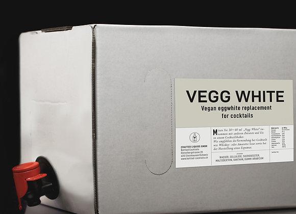 Vegg White Eiweissersatz für Cocktails, Box 3 Liter