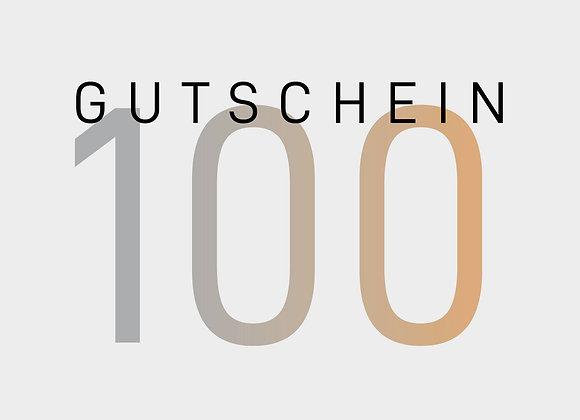 Gutschein 100