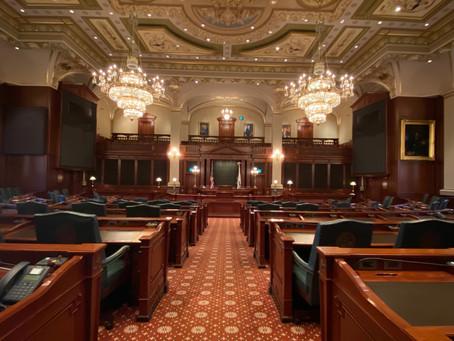 Legislation, Constituent Services, Community Survey, Unemployment Insurance