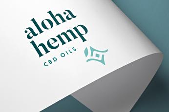 Aloha Hemp CBD Logo and Brand Development