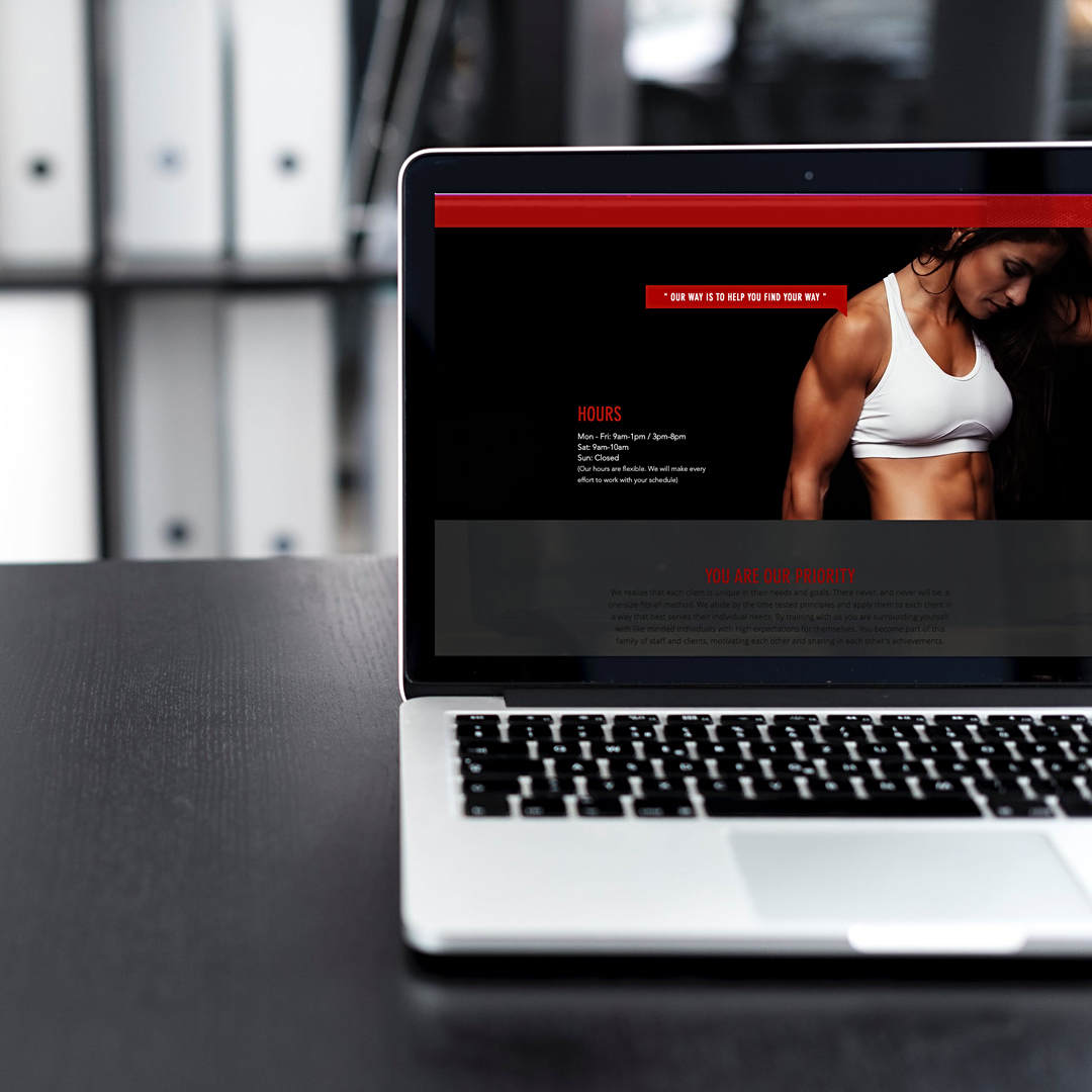 Ironclad Gym Website