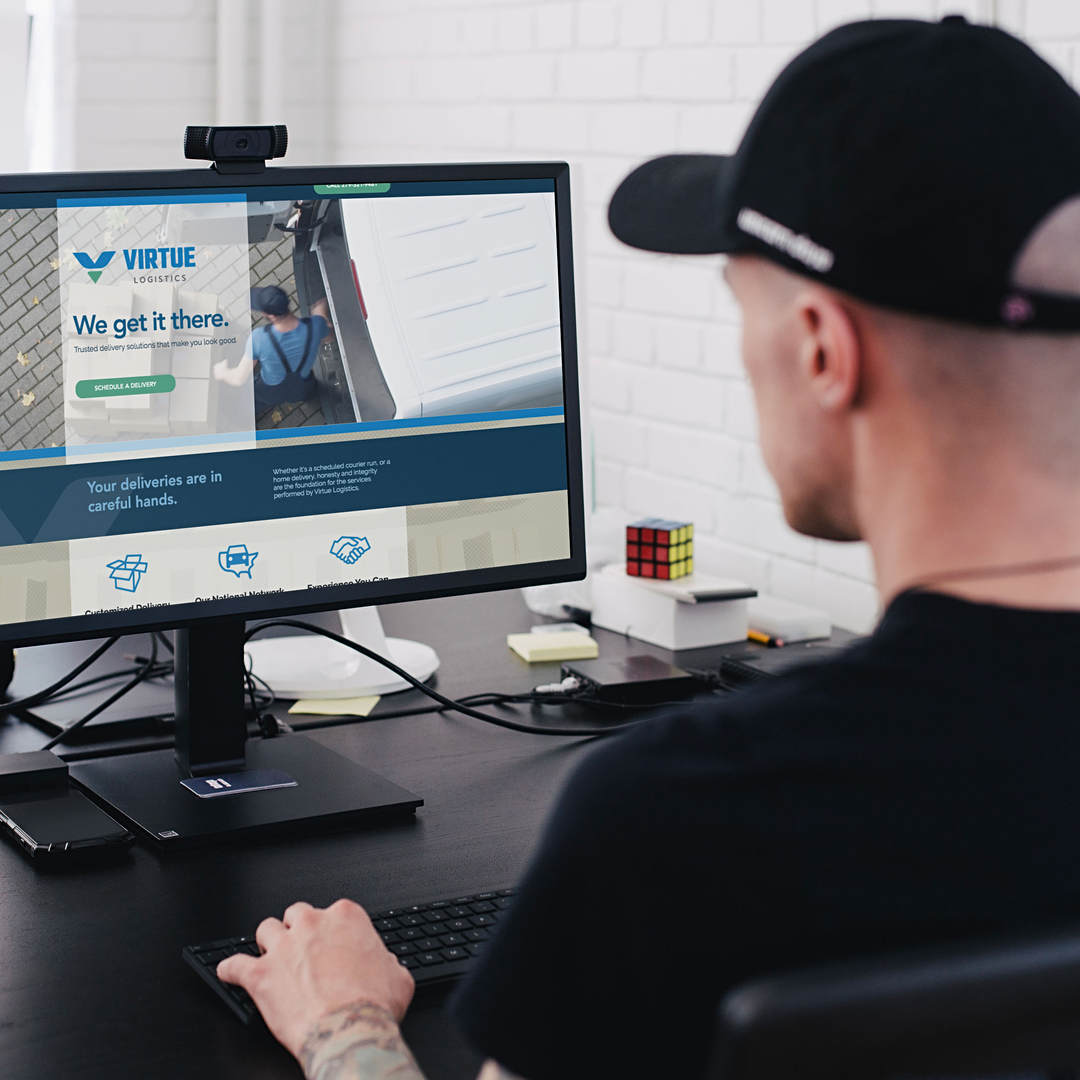 Virtue Logistics - Courier and Delivery Website