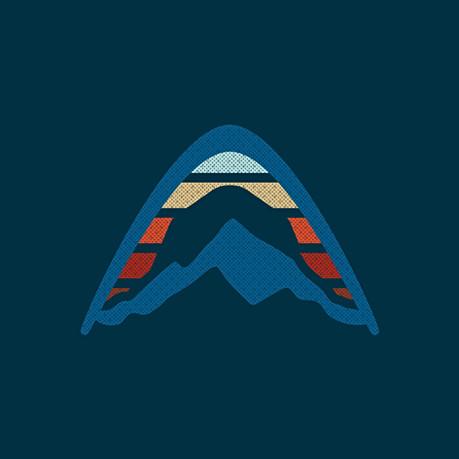 Camping Logo Asset