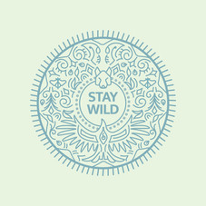 Stay Wild Outdoor Asset Radial