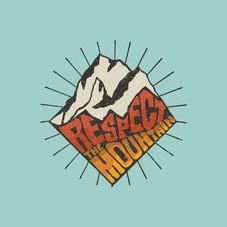 Respect the Mountain Illustration