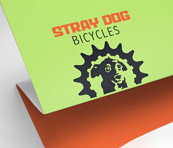 Stray Dogs Bike Logo