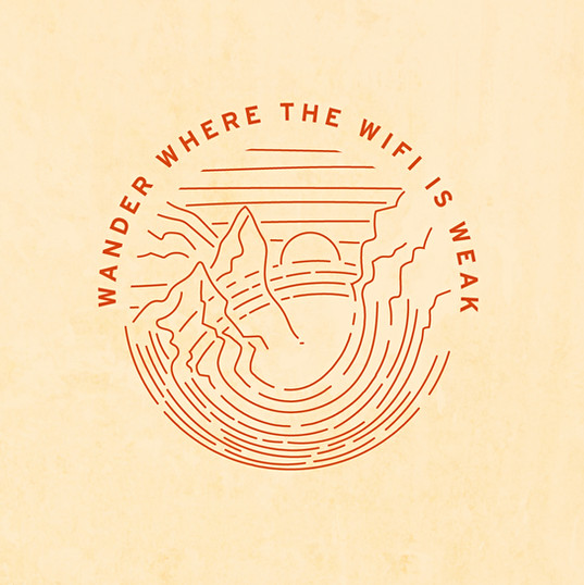 Wander where the Wifi is weak