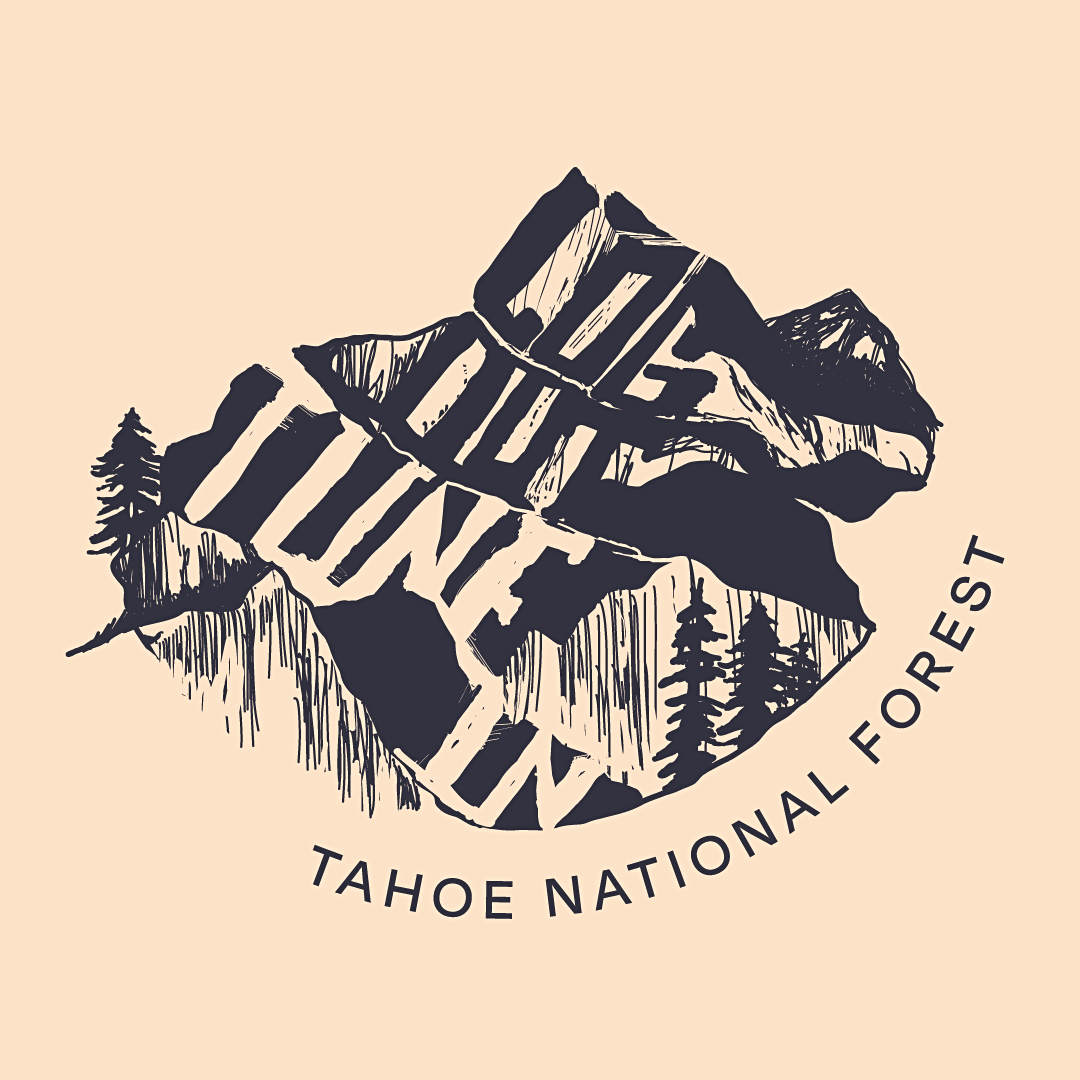 Tahoe National Forest Illustration