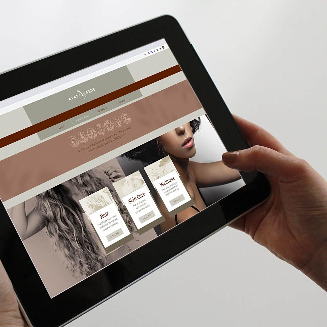 Avant Garde Salon & Spa Website