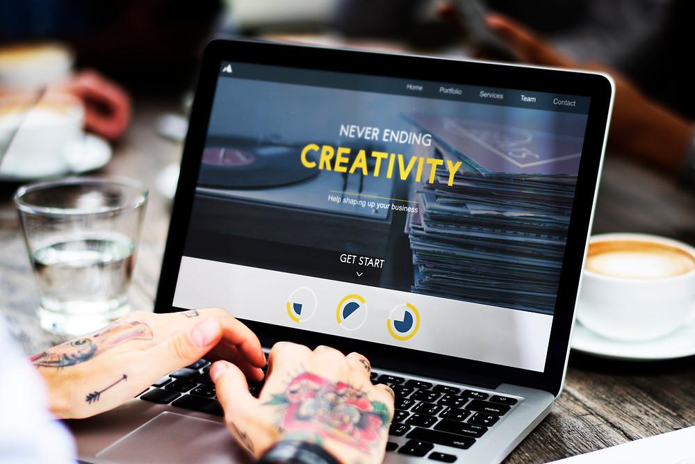 Creativity on a laptop