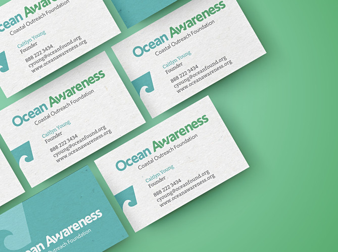 Logo Design for Ocean Awareness Non-Profit