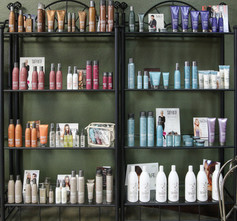 Hair Product Wall