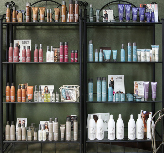 Hair Product Wall