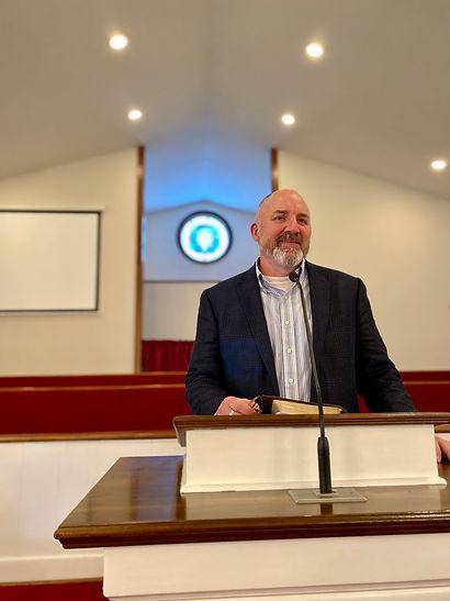 Pastor Preaching Trinity