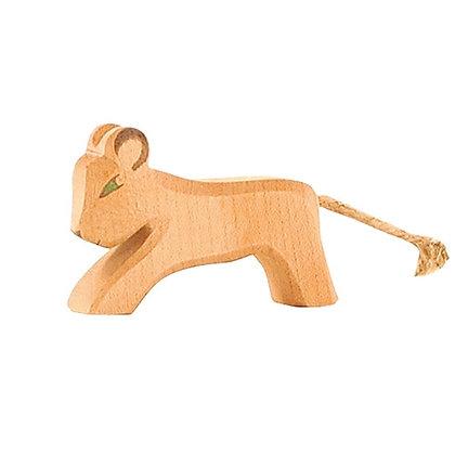 Ostheimer Handmade Wooden Lion Cub 20004