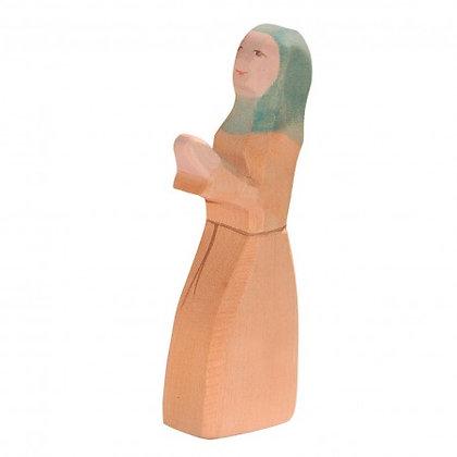 Ostheimer Handmade Wooden Noah's Wife Figure 33251