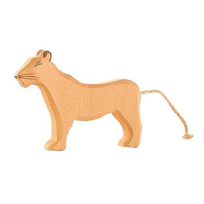 Ostheimer Handmade Wooden Female Lion 20002