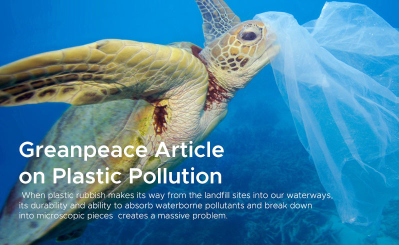 Greanpeace Article on Plastic Pollution 