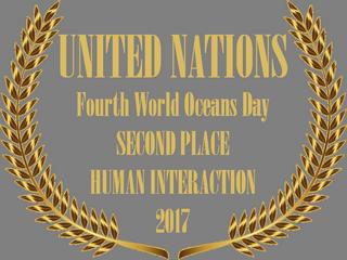 UN WORLD OCEANS SAY PHOTO AWARD BADGE.pn