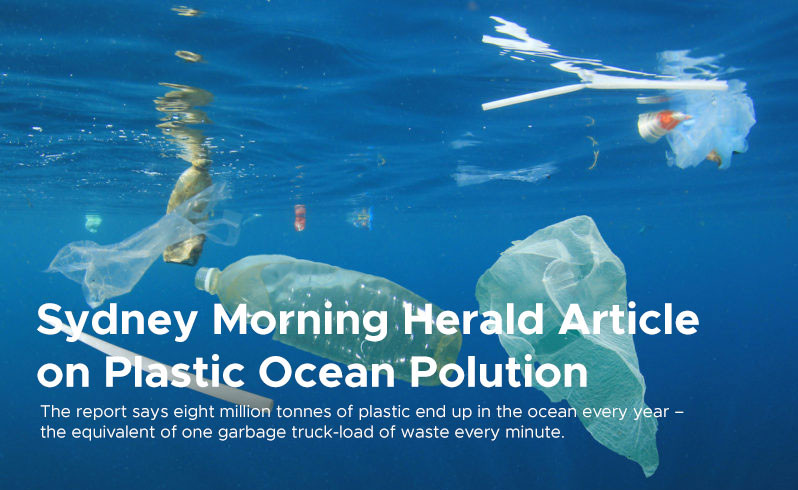 Sydney Morning Herald Article on Plastic Ocean Polution