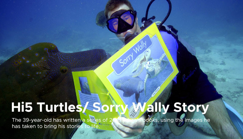 Hi5 Turtles/ Sorry Wally Story