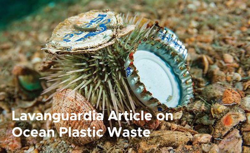 Lavanguardia Article on Ocean Plastic Waste 