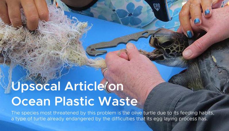 Upsocal Article on  Ocean Plastic Waste