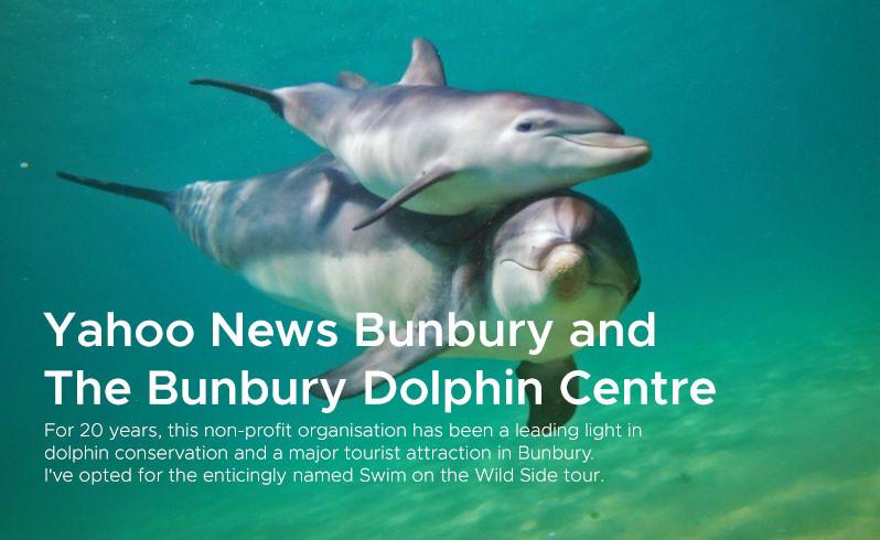 Yahoo News Bunburry and The Bunburry Dolphin Centre