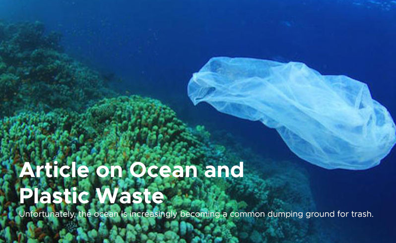 Article on Ocean and Plastic Waste
