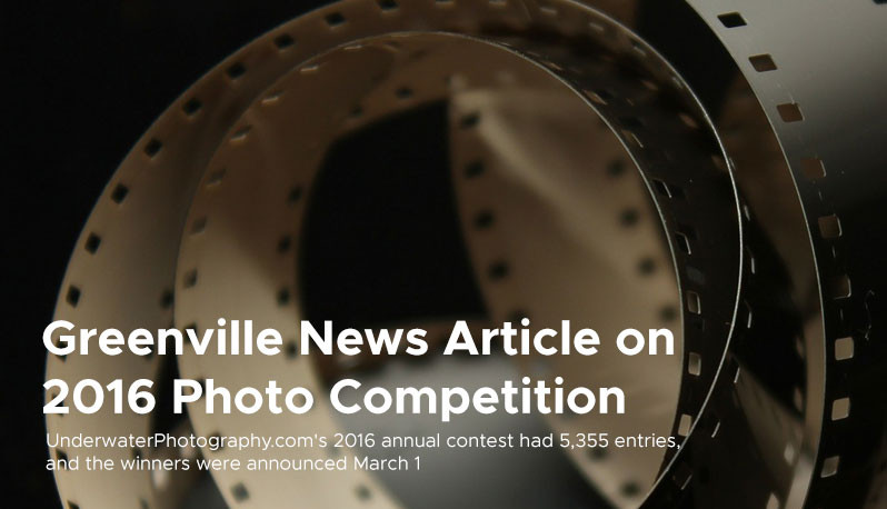 Greenville News Article on  2016 Photo Competition