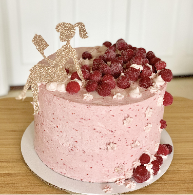 Raspberry Top Buttercream