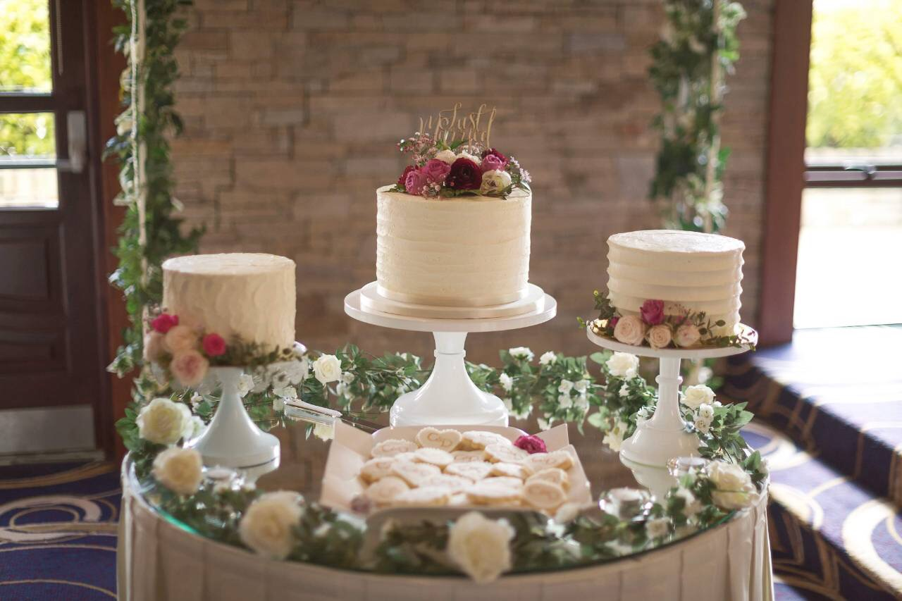 Wedding Trio Cake