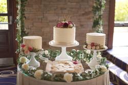 Wedding Trio Cake