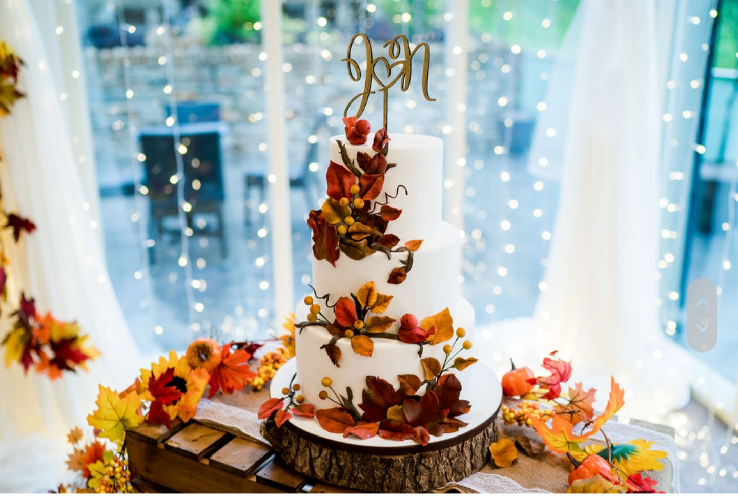 Autumn Inspired Cake