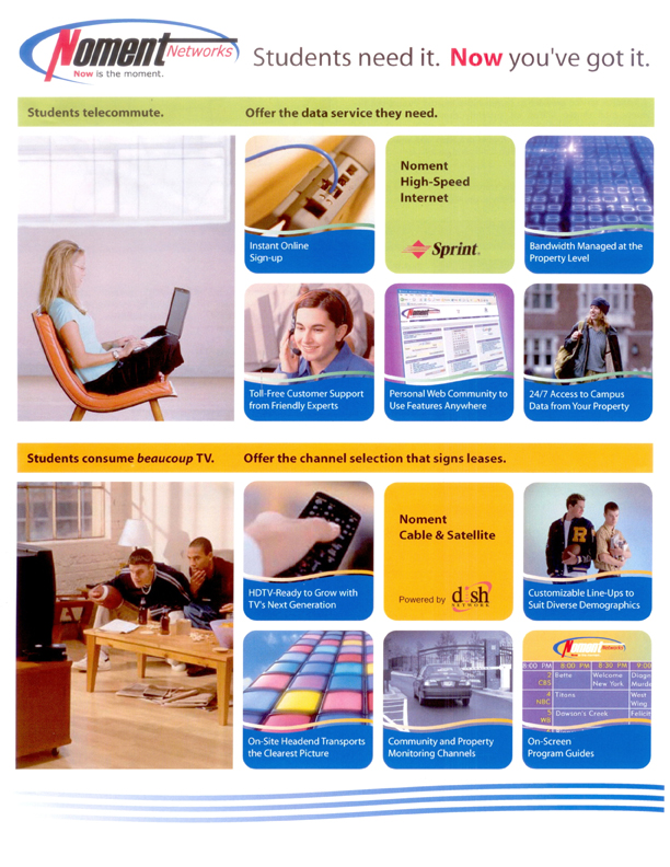 Noment Corporate One-Sheet (Front)