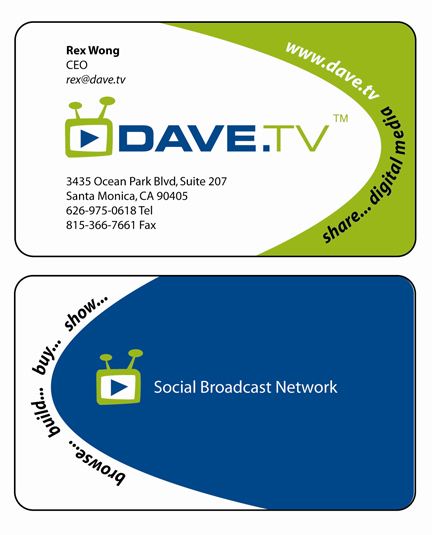 New DAVE.TV Brand