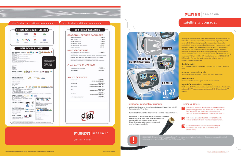 Fusion Broadband Cable Brochure